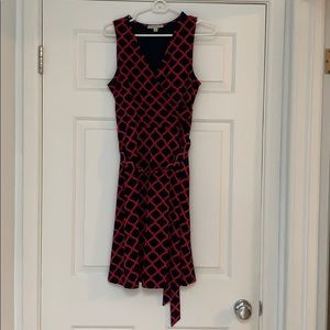 French pattern casual dress